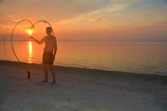 Sunset on Brzee Beach on Bintan Island3