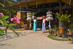 Welcome to the restaurant, Brzee Beach, Bintan Island